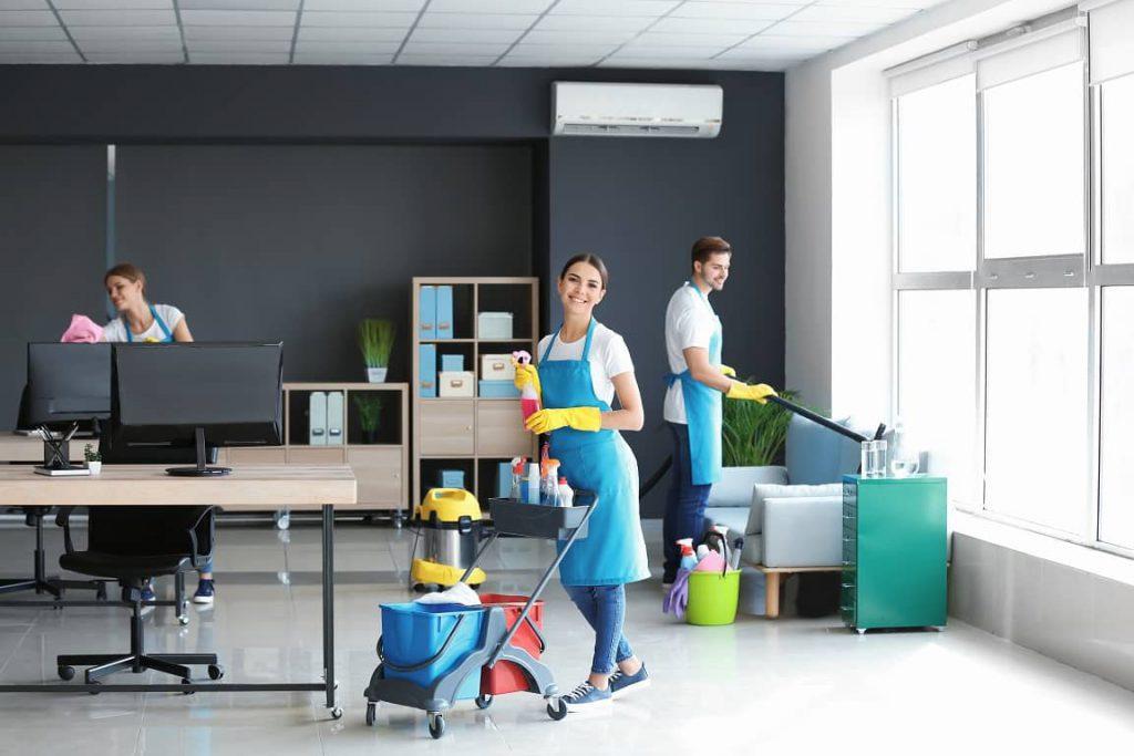 Kompleksowe sprzątanie biur